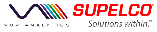 VUV Analytics and Supelco Solutions logo