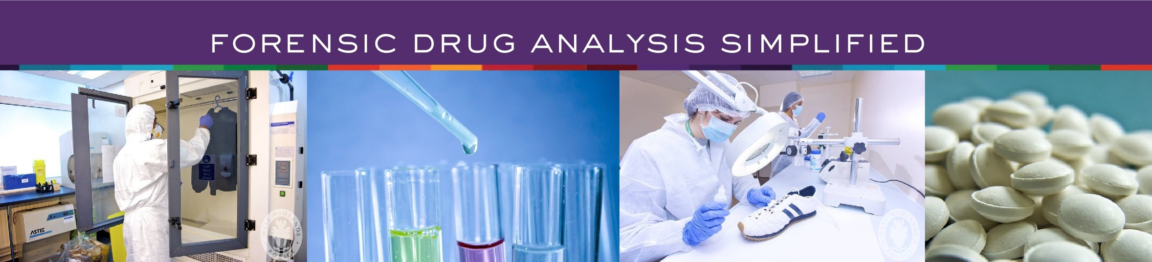 Forensic Drug Analysis Simplified