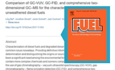 diesel fuel samples