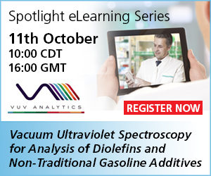 PetroIndustry News Webinar: GC-VUV Spectroscopy for Analysis of Diolefins and Non-Traditional Gasoline Additives