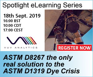 Webinar: ASTM D8267 the only real solution to the ASTM D1319 Dye Crisis @ Online