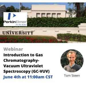 Webinar: Introduction to GC-VUV with PerkinElmer